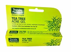 Thursday Plantation Australias Original Tea Tree Acne Gel Invisible Gel Ideal for Acne Pimples Whiteheads  Blackheads 10 G Pack * Check this awesome product by going to the link at the image.