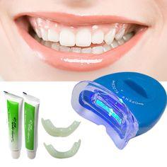 2015 Hot & New White Light Gigi Pemutih Gigi Gel pemutih Kesehatan Oral Care Pasta Gigi Kit Untuk Personal Perawatan Gigi sehat