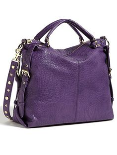 Best Fall Handbags Under $100 Top-handle bag Steve Madden, $98; nordstrom.com. Love the size, purple, and studded straps