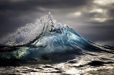 The Beauty Of Wild Waves In The Sea