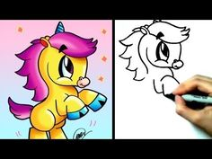 How to Draw Cartoon Animals : How to Draw an