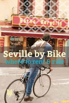 There's no better way to see Seville than from the back of a bike! Use this guide to renting bikes in Seville to narrow down the top rental services in the Andalusian capital. Cycling Holiday, Holiday Travel, Seville Spain, Cadiz, Spain And Portugal, Renting, Spain Travel, Time Travel, Astronomy