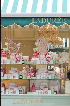 Laduree; the best, iconic Patisserie in Paris!