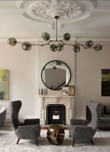 Obsessed // Lindsey Adelman Lighting | Jade O'Connor Designs, Inc.  Love this light