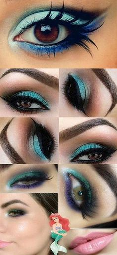 little-mermaid-ariel-makeup-tutorial-how-to.jpg (300×650)