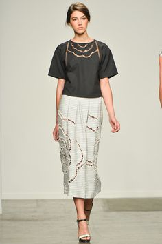 Sachin + Babi Spring 2014 Ready-to-Wear Collection Slideshow on Style.com