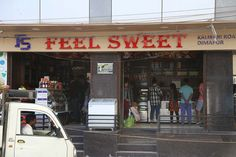 Feel Sweet is an Indian restaurant that is invested in preparing Indian dishes and sweets. They also extend their menu to cover Chinese cuisine. Some of their popular items include rosa, lab bhaji,… Indian Dishes, Places To Eat, Lab, Menu, Sweets, Restaurant, Popular, Feelings, Cover