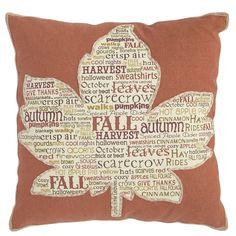 Maple Leaf Pillow | Pier 1 Imports