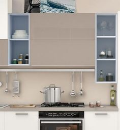 decapé lacquered kitchen with handles gallery collection by cucine ... - Soggiorno Linda Lube