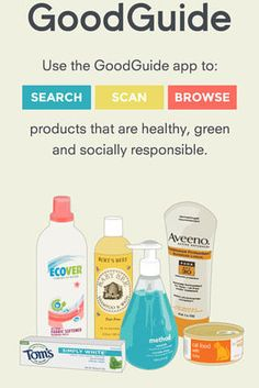 GoodGuide helps you find healthy, socially responsible products while you shop. | 25 Free Apps That Are Making The World A Better Place
