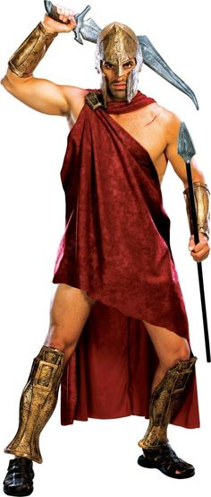 @parada05 Deluxe 300 Spartan Costume for Men - Party City