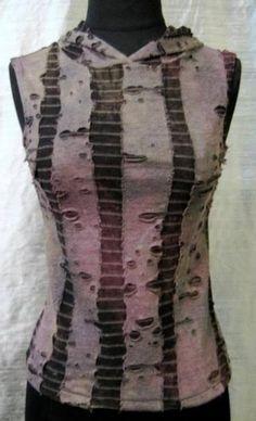 SHRINE GOTHIC VAMPIRE GOTH PUNK EMO ZOMBIE RARE VAMPIRE HOODIE VEST T SHIRT  #SHRINE #VESTTSHIRT