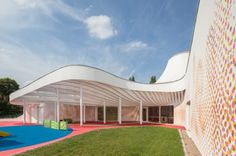 Kindergarten without corridors in Boulet-Moselle