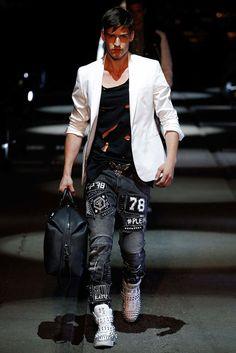 Philipp Plein İlkbahar 2016 Erkek Giyim Koleksiyonu Resimleri - Vogue