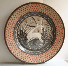 Tonalat Pottery-   Large Burnished Charger