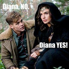 Wonder Woman: a synopsis. #dianaprince #stevetrevor #dc