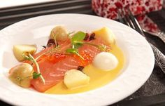 food made by a three Michelin  star cook; Jonnie Boer