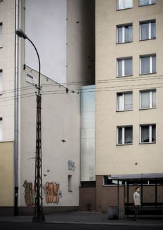 The Keret House is an art installation that is also a fully-functional home in Warsaw inserted in the space between two buildings. At its widest interior span, the Keret House is 48 inches, and at its narrowest it's only 28.