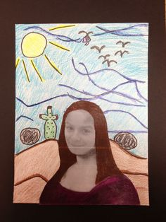 WHAT'S HAPPENING IN THE ART ROOM??: 2nd Grade Mona Lisa