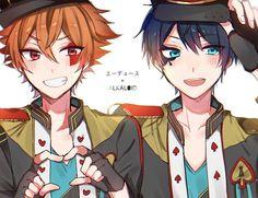 Anime Chibi, Kawaii Anime, Ensemble Stars, Funny Games, Neko, Crossover, Wonderland, Geek Stuff, Handsome