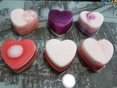 Melt And Pour, Vegan Soap, Gramm, Lavender Oil, Heart Shapes, Valentines, Etsy Shop, Ethnic Recipes, Desserts