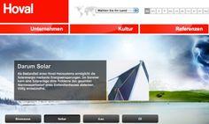 hoval.com / Hoval Startseite, Thema Solar © echonet communication GmbH