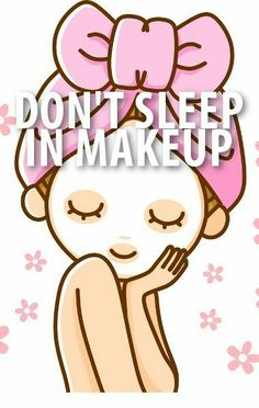 We all do it but really we shouldn't.. we can help with that night time skin care routine!
