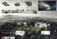 Gallery Announces winners of the design contest of the Tropicario of the Botanical Garden of Bogotá - 6 Famous Architecture, Architecture Panel, Cultural Architecture, Architecture Magazines, Architecture Drawings, Architecture Portfolio, Architecture Details, Landscape Architecture, Architecture Presentation Board