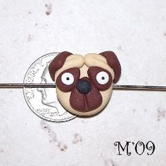 {Tutorial} Pug Puppy Bead   By: Marjorie from Living with Three Moon Babies