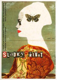Movie Poster - Dolce Vita, Karel Vaca, 1962