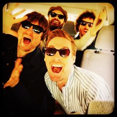 Kaiser Chiefs (Coming Home, Ruby, Every Day I Love You Less and Less, etc. Ricky Wilson, Richard Wilson, Kaiser Chiefs, Coming Home, Kinds Of Music, Classic Rock, Famous Faces, Rock Music, My Best Friend