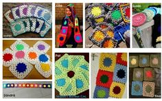 Traditional Granny Square:    Wade's Blanket CAL (Part 2)