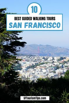 Discover the 10 best walking tours around San Francisco. These tours offer you a behind the scene look at SF's history, districts, and unique culture. #sanfranciscohistory #sanfranciscotours #sanfranciscothingstodo San Francisco Attractions, San Francisco Tours, San Francisco Neighborhoods, San Francisco Travel, West Coast Road Trip, Road Trip Usa, Us Travel Destinations, Best Places To Travel, Visit California