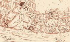 ディズニーのキャラクターを擬人化。ミッキーが少年マンガの主人公みたいにかっこかわいい! : カラパイア