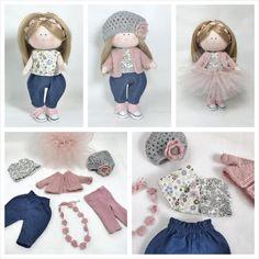 Lalka,którą można przebierać Fabric Dolls, Etsy Handmade, Little Girls, Kids Room, Great Gifts, Toddler Girls, Room Kids, Rag Dolls, Kidsroom