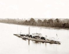Civil War Ironclad. A historic image of James River, Virginia U.S.S. Casco, light-draft monitor. It was taken between 1860 and 1865. The image shows Federal Navy, and seaborne expeditions against the Atlantic Coast of the Confederacy -- the Federal Navy, 1861-1865.