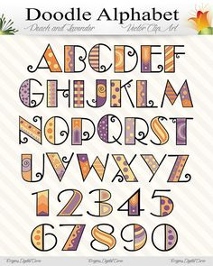 Peach and Lavender Doodle Alphabet Vector by OriginsDigitalCurio, $5.00  https://www.etsy.com/listing/194308518/peach-and-lavender-doodle-alphabet?ref=sr_gallery_27&ga_order=date_desc&ga_view_type=gallery&ga_ref=fp_recent_more&ga_page=3&ga_search_type=all
