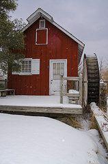 Bill Cannon - Kimberton Mill in Winter