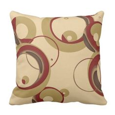 Trendy Bubbles Throw Pillow - Beige. *** Check out even more at the picture