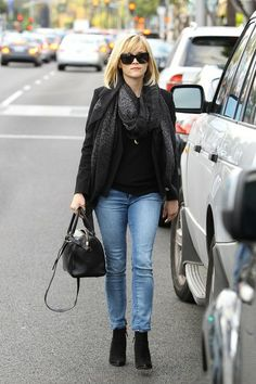 Reese Witherspoon out and about in Los Angeles.