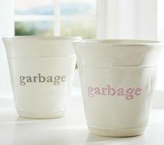Great Trash Can Contemporary Waste Baskets