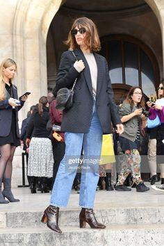 Jeanne Damas attends the Stella McCartney Womenswear Spring/Summer...- Getty Images