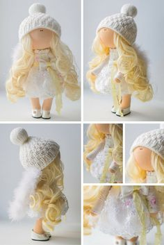 Beauty doll Tilda doll Art doll handmade by AnnKirillartPlace