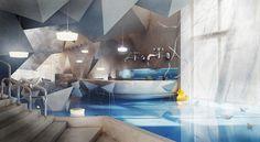 Blue Design Bathroom Wamhouse - 2