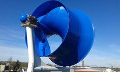 Een nieuwe (Nederlandse!) ontwikkeling op het gebied van de kleine windmolens! Het is De Blauwe Molen. Deze molen heeft alles wat jij zoekt in een geschikte molen voor de stad. Straks kan jij je eigen energie opwekken, zeker als je deze windmolen samen met zonnepanelen, installeert. Wind Power, Solar Power, Wind Machine, Bus Living, Green Earth, Water Heating, Alternative Energy, Renewable Energy, Windmill