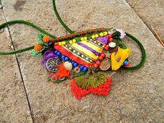 Gypsy necklace. Hippie necklace, handmade necklace, fashion , precious necklace.