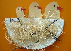 Tvoríme s deťmi: Vtáčie hniezdo | Tvorivo s deťmi | Vychovávame | Babetko.Rodinka.sk