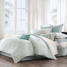 Echo Mykonos Bedding By Echo Bedding, Comforters, Comforter Sets, Duvets, Bedspreads, Quilts, Sheets, Pillows