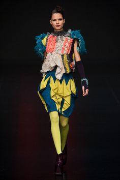 Knitwear Innovation and Design Society show during Hong Kong Fashion Week Fall/Winter