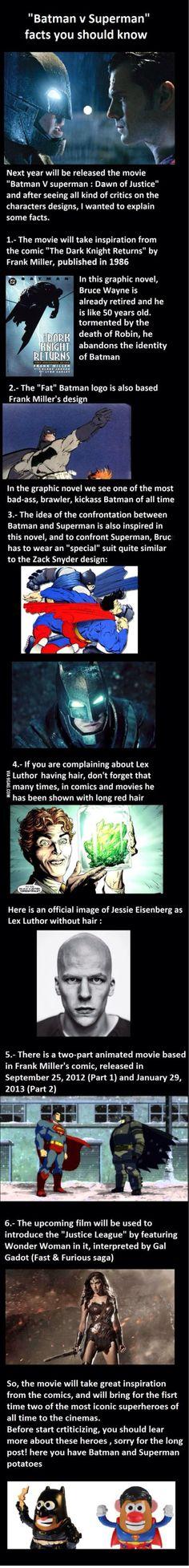 Batman v Superman facts you should know